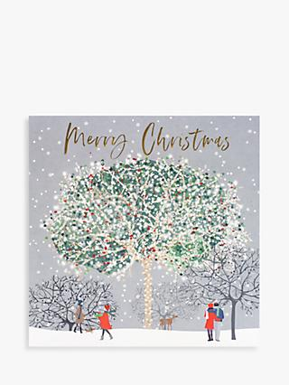 Belly Button Designs Round The Tree Christmas Card