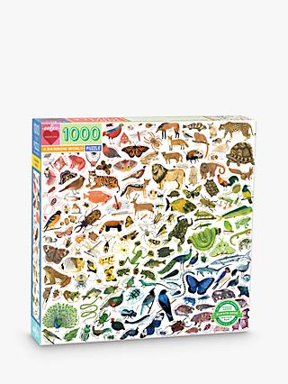 eeBoo A Rainbow World Jigsaw Puzzle, 1000 Pieces