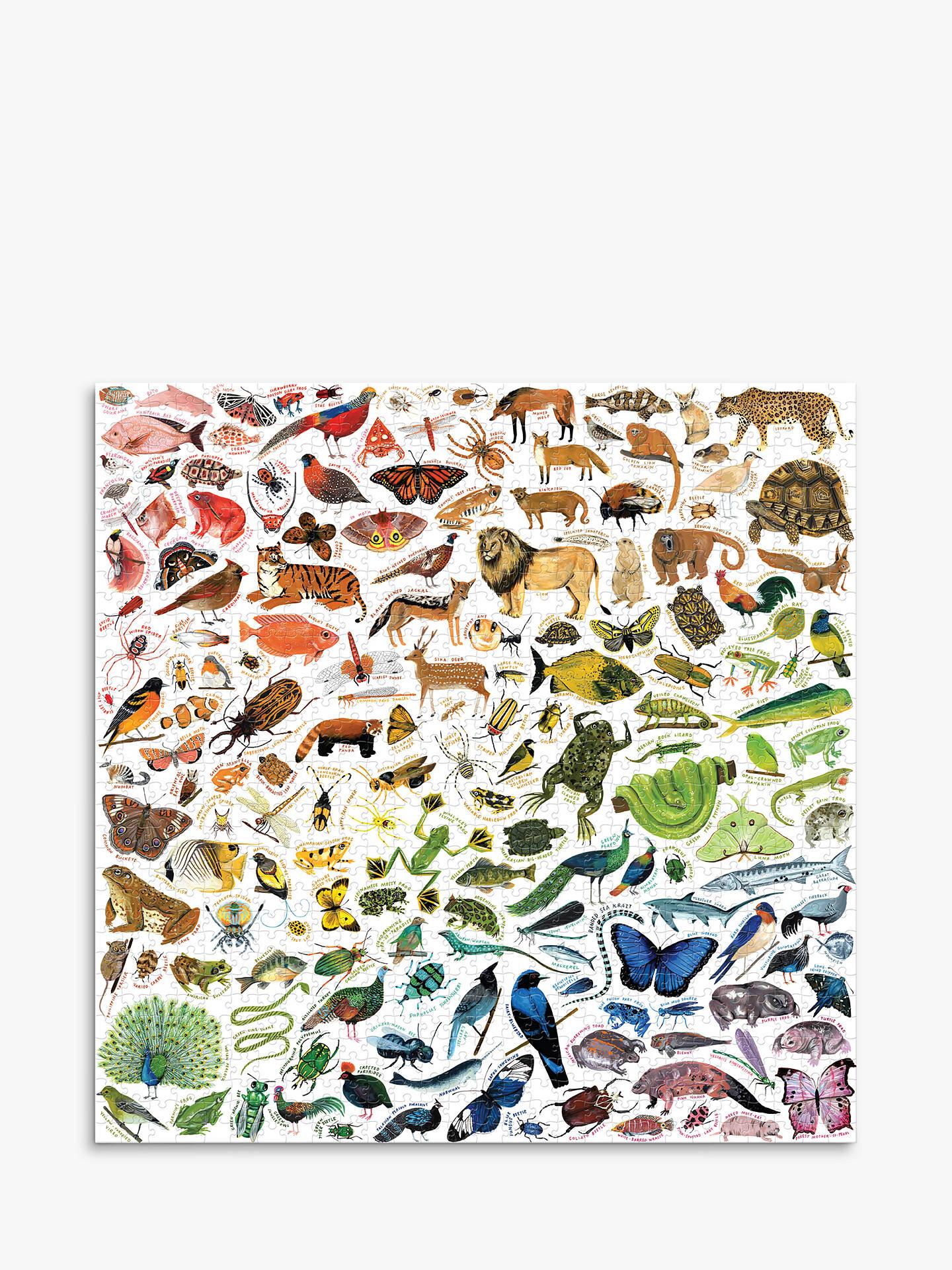 Eeboo Beautiful World Jigsaw Puzzle