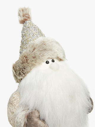 Buy John Lewis & Partners Impressionism Santa Gonk Figure Online at johnlewis.com