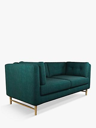John Lewis & Partners Booth Medium 2 Seater Sofa, Light Leg