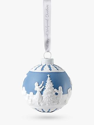 Wedgwood Decorating the Christmas Tree Bauble