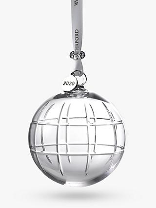 Waterford Crystal Cluin Ball Christmas Tree Decoration