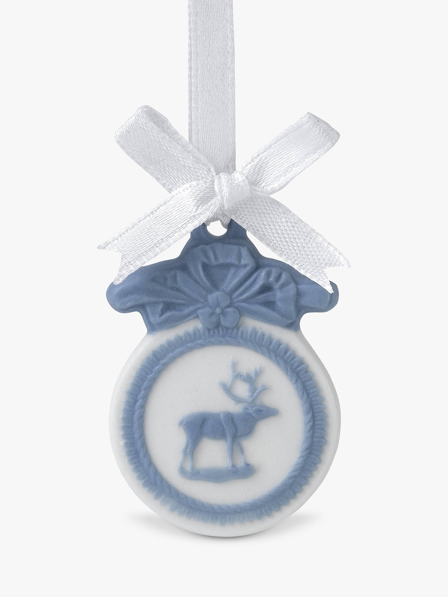 Buy Wedgwood Magical Christmas Porcelain Ornaments Advent Calendar 2020, 24 Piece Online at johnlewis.com