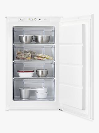 AEG ABE6882E1LS Integrated Freezer, A++ Energy Rating, 54cm Wide, White