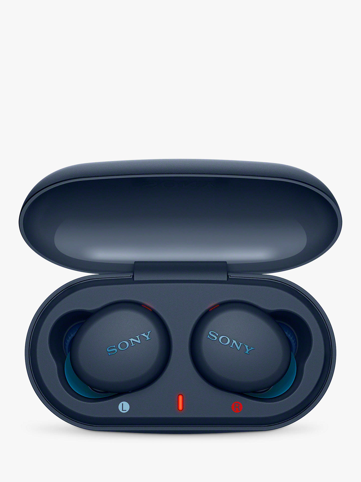Buy Sony WF-XB700 Extra Bass True Wireless Bluetooth Splash Resistant Sports In-Ear Headphones with Mic/Remote, Blue Online at johnlewis.com