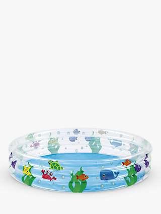 Bestway Deep Dive 3-Ring Inflatable Paddling Pool