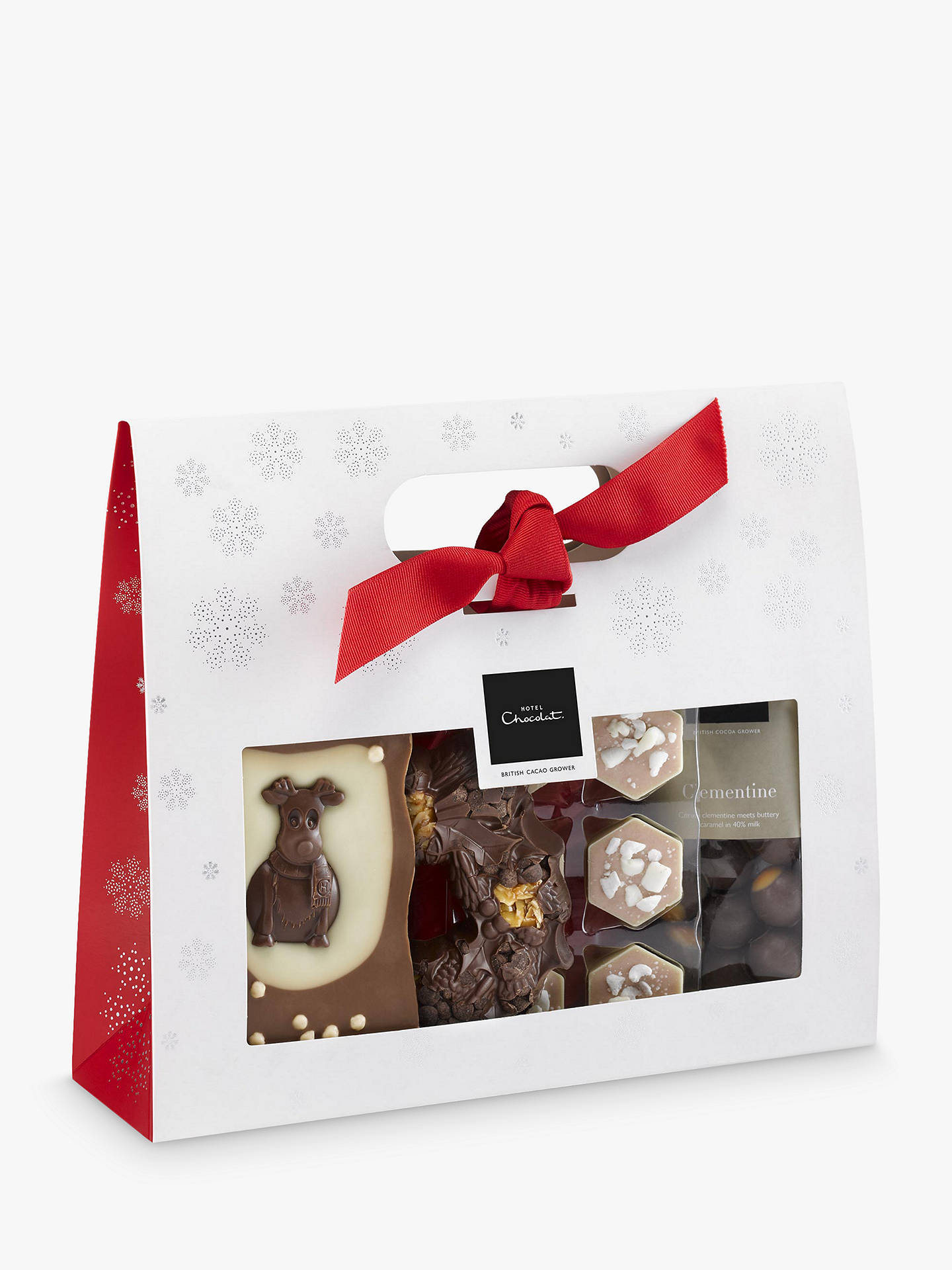 Buy Hotel Chocolat The Christmas Goody Bag, 338g Online at johnlewis.com
