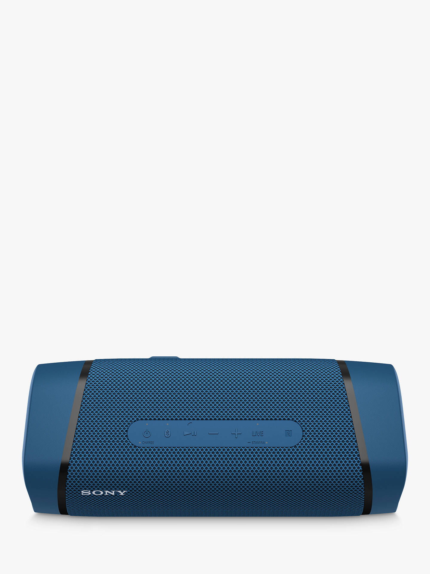 Buy Sony SRS-XB33 Extra Bass Waterproof Bluetooth NFC Portable Speaker with Line Lighting, Blue Online at johnlewis.com
