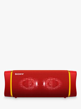 Sony SRS-XB33 Extra Bass Waterproof Bluetooth NFC Portable Speaker with Line Lighting