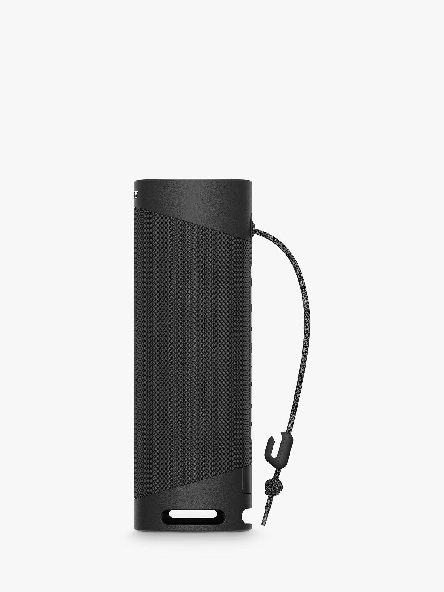 Buy Sony SRS-XB23 Extra Bass Waterproof Bluetooth Portable Speaker, Black Online at johnlewis.com