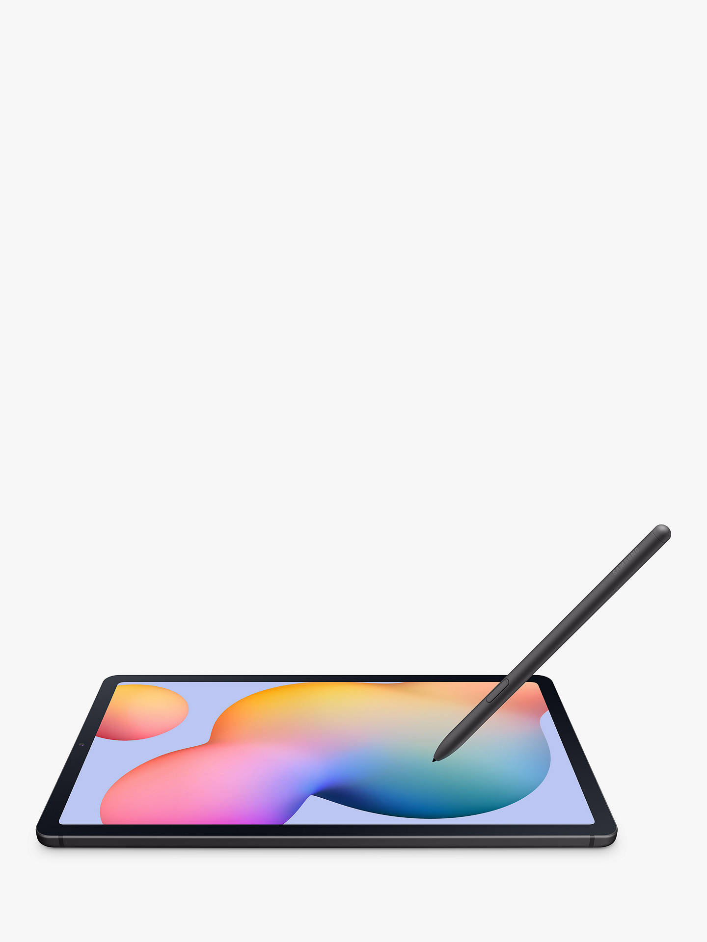 "Buy Samsung Galaxy Tab S6 Lite Tablet with S Pen, Android, 64GB, 4GB RAM, LTE, 10.4"", Oxford Grey Online at johnlewis.com"