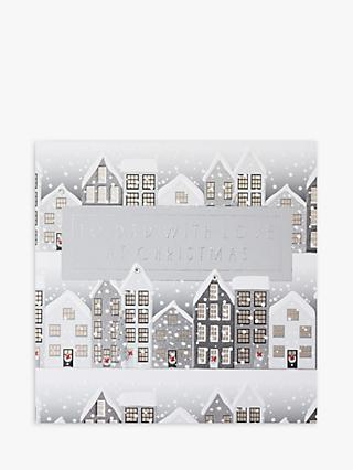 Wendy Jones Blackett Houses Christmas Card