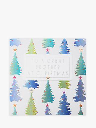 Wendy Jones Blackett Brother Trees Christmas Card