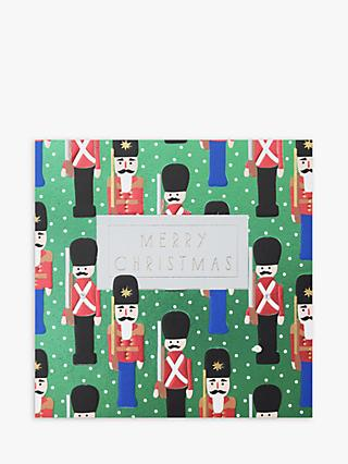 Wendy Jones Blackett Soldier Christmas Card