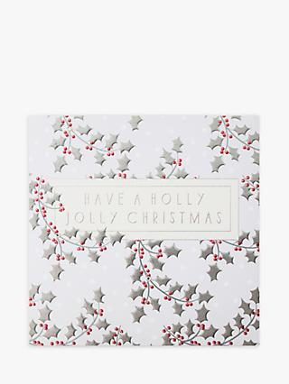 Wendy Jones Blackett Holly Jolly Christmas Card