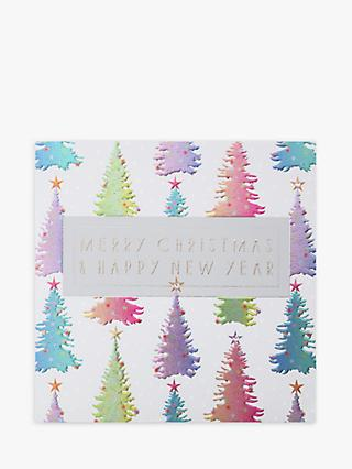 Wendy Jones Blackett Trees Christmas Card