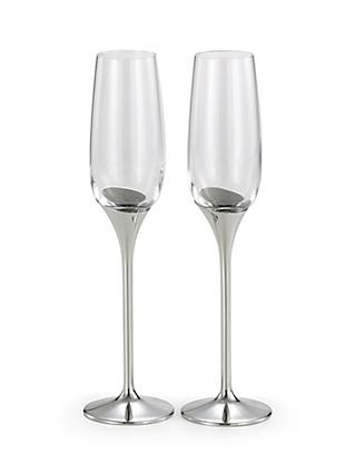 Royal Selangor Domain Champagne Flutes, Set of 2