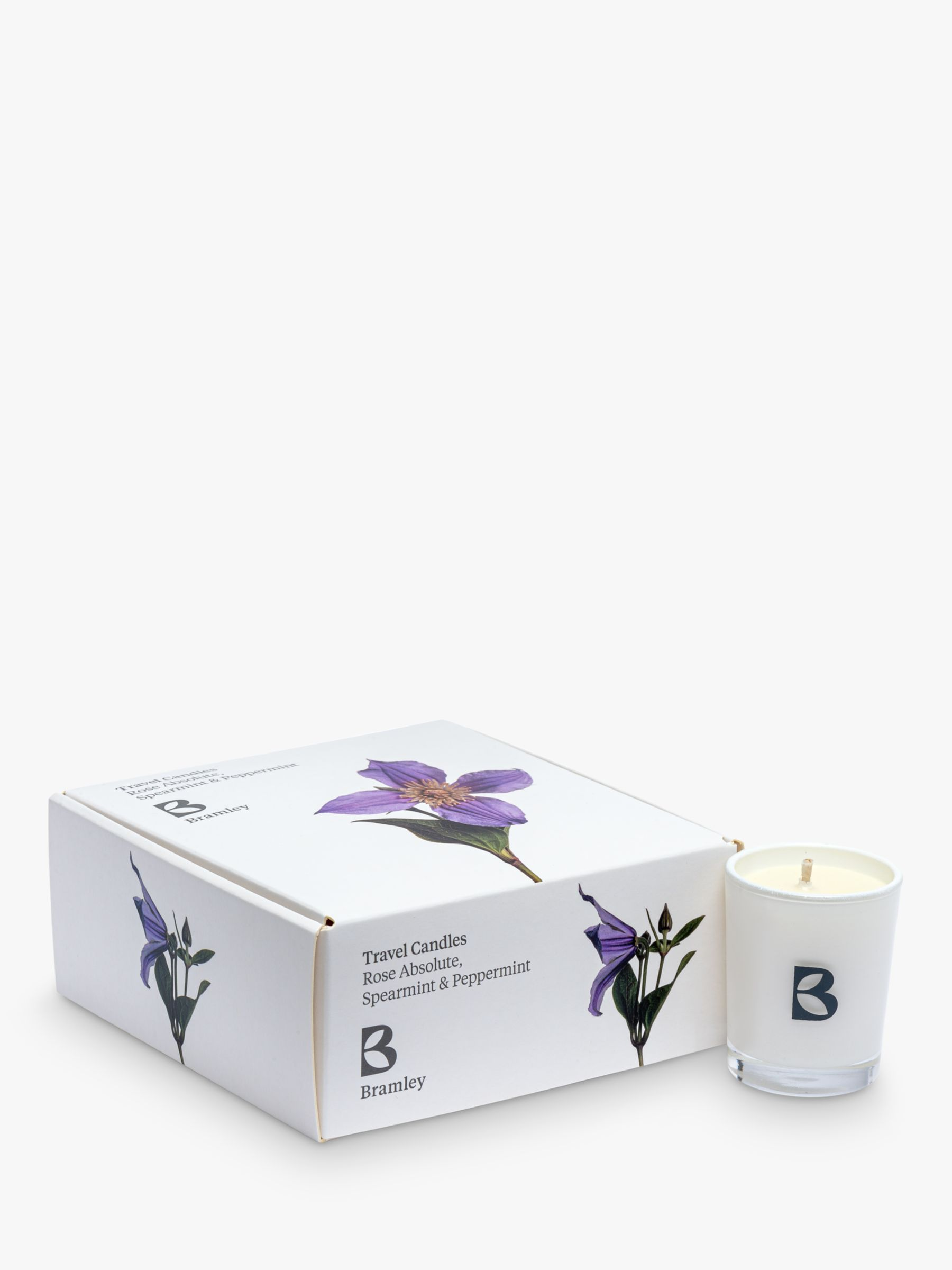 Bramley Travel Scented Candle Gift Set Pack Of 4 50g Each At John Lewis Partners
