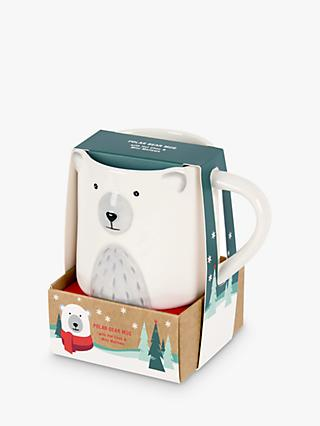 Polar Bear Mug and Hot Chocolate Gift, 40g