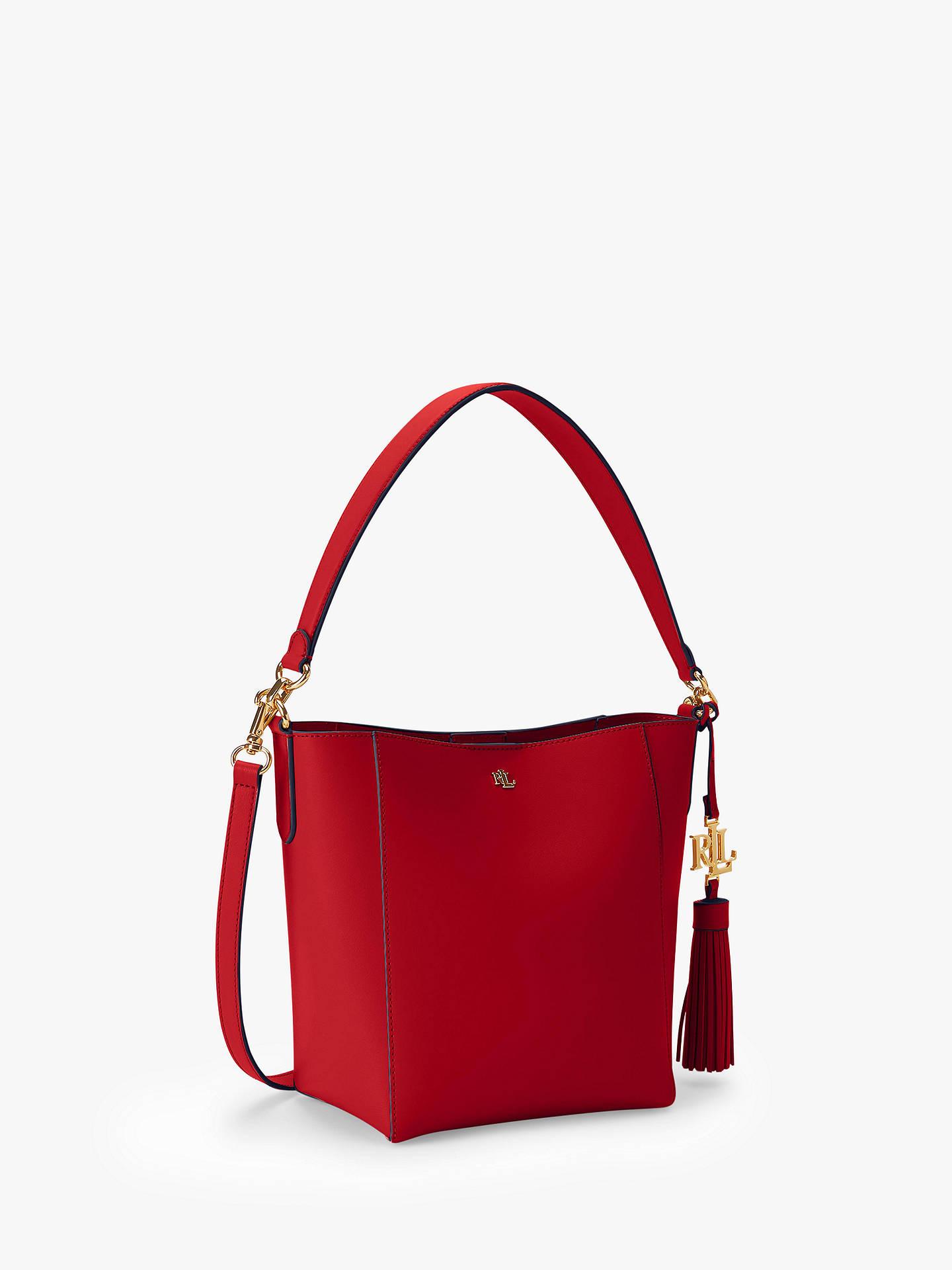 Buy Lauren Ralph Lauren Adley Leather Bag - Womens for AED