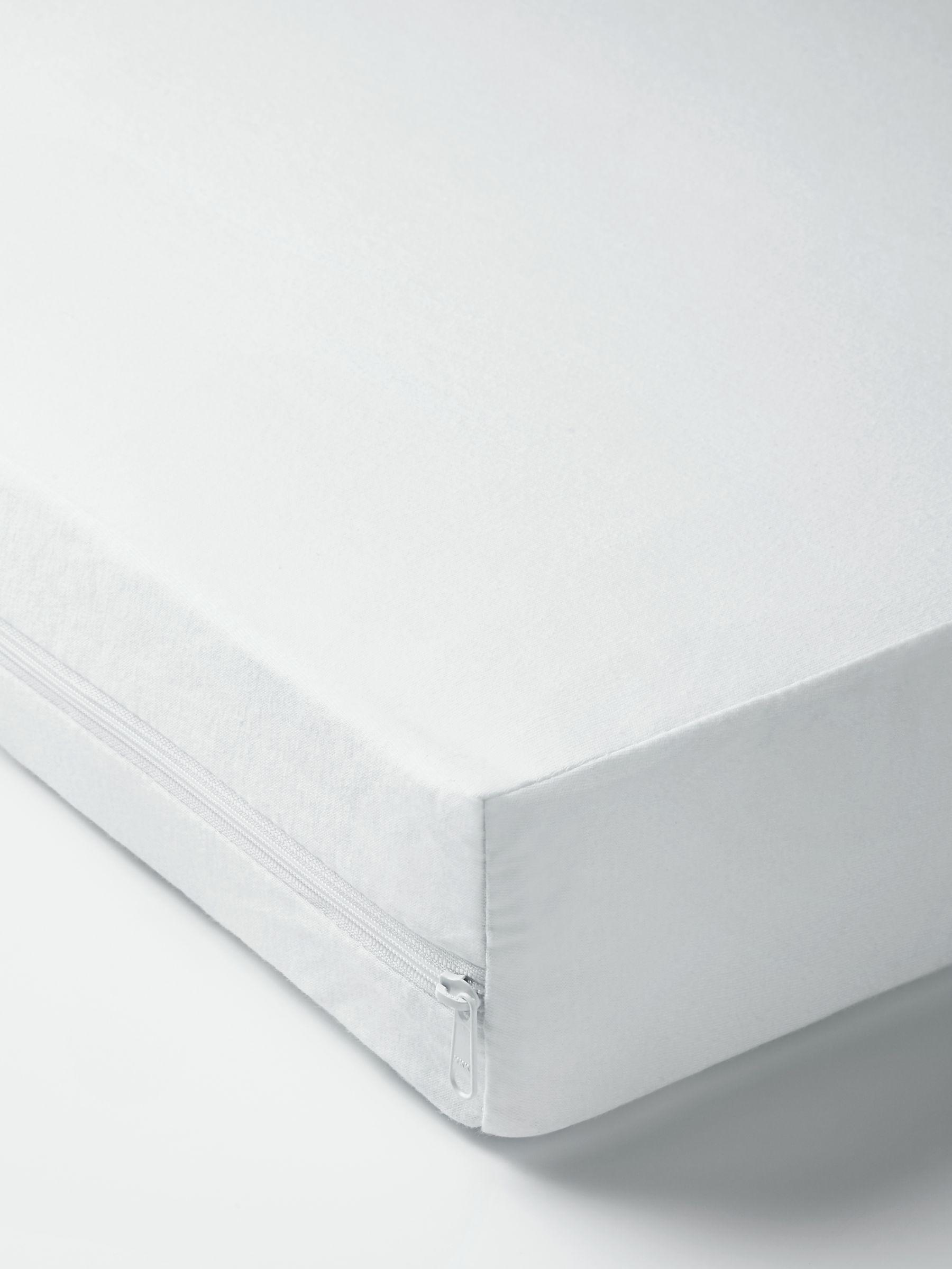 John Lewis & Partners Micro-Fresh Anti Allergy Waterproof Cot Mattress Protector