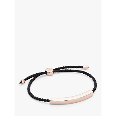 Monica Vinader Men's Linear Large Friendship Bracelet