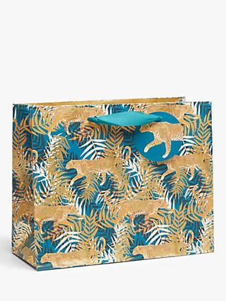 Art File Tropical Leopard Gift Bag