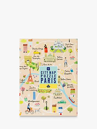 Talking Tables Paris Map Jigsaw Puzzle, 250 Pieces