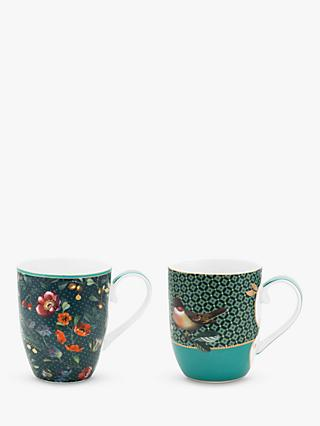 Pip Studio Winter Wonderland Christmas Small Mugs, Set of 2, 145ml, Multi