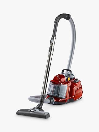 AEG LX7 Power Animal Bagless Vacuum Cleaner, Chilli Red