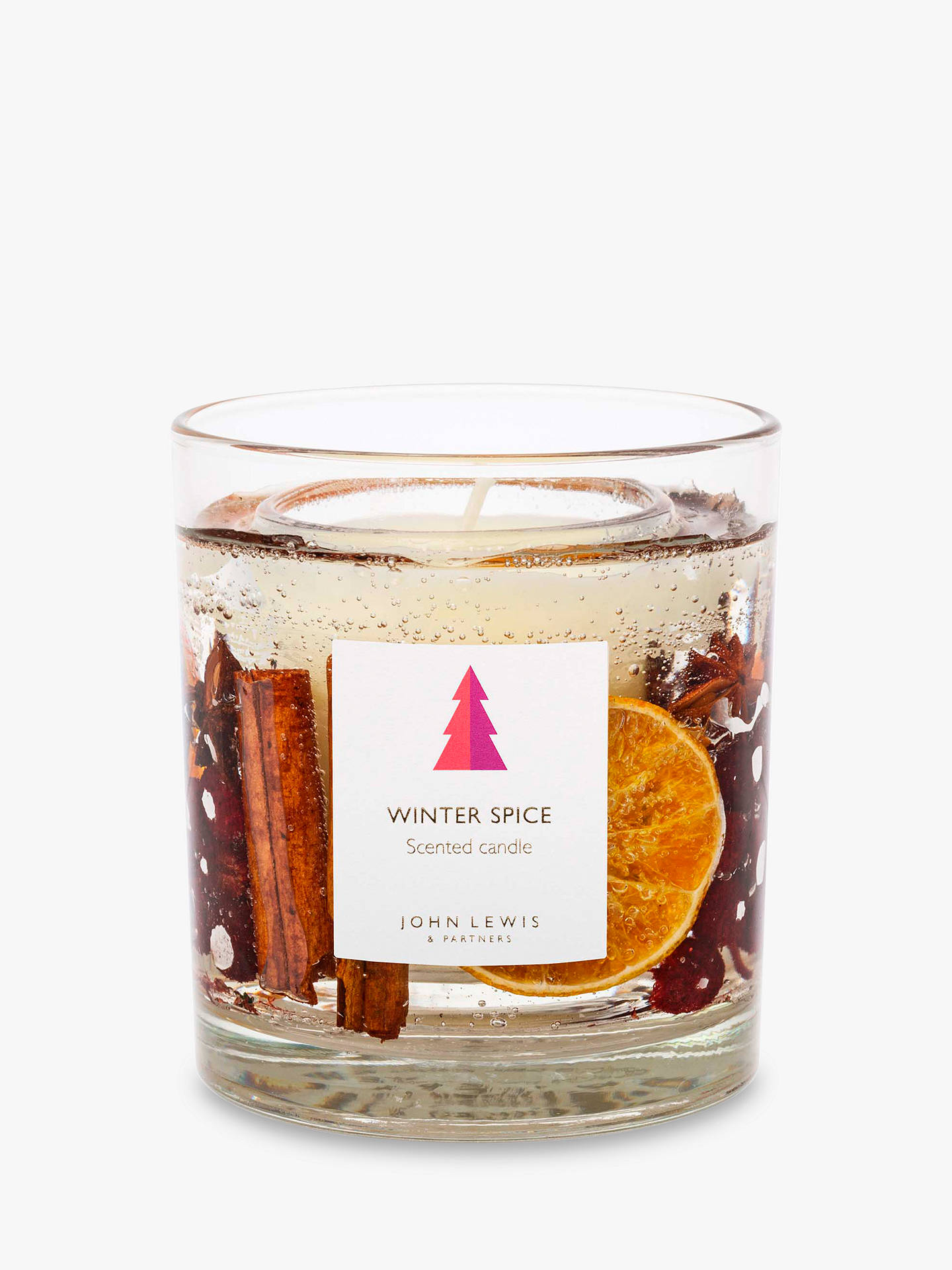 Buy John Lewis & Partners Winter Spice Gel Scented Candle, Small Online at johnlewis.com