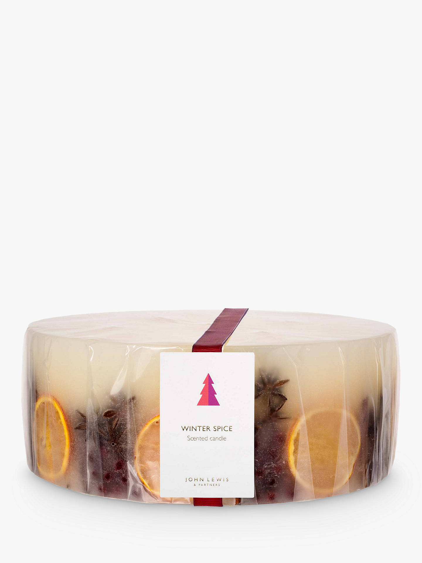 Buy John Lewis & Partners Winter Spice 5 Wick Scented Candle, 8kg Online at johnlewis.com