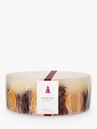 John Lewis & Partners Winter Spice 5 Wick Scented Candle, 8kg