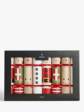 John Lewis & Partners Christmas Characters Who Am I Christmas Crackers, Pack of 8
