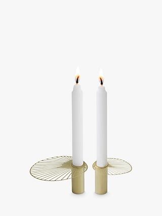 Pluto Produkter Sun Candle Holders, Set of 2