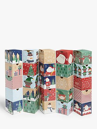 John Lewis & Partners Santa & Friends Fill Your Own Advent Chest