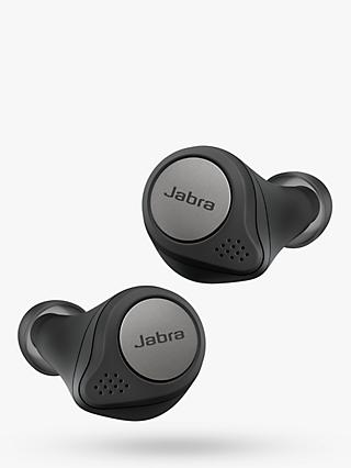 Jabra Elite Active 75t True Wireless Bluetooth Active Noise Cancelling Sweat & Weather-Resistant In-Ear Headphones with Mic/Remote