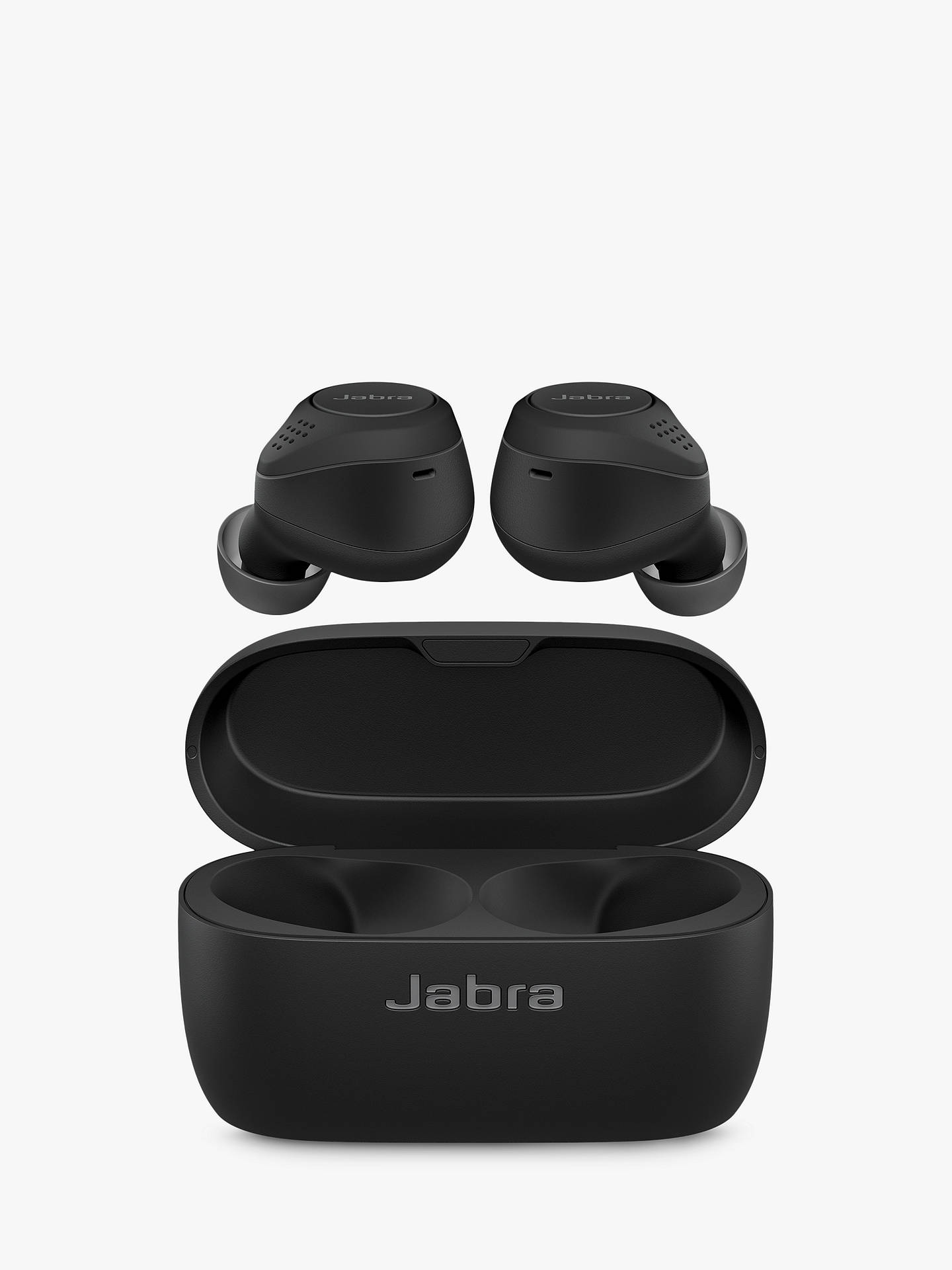 Buy Jabra Elite 75t True Wireless Bluetooth Active Noise Cancelling In-Ear Headphones with Mic/Remote, Black Online at johnlewis.com