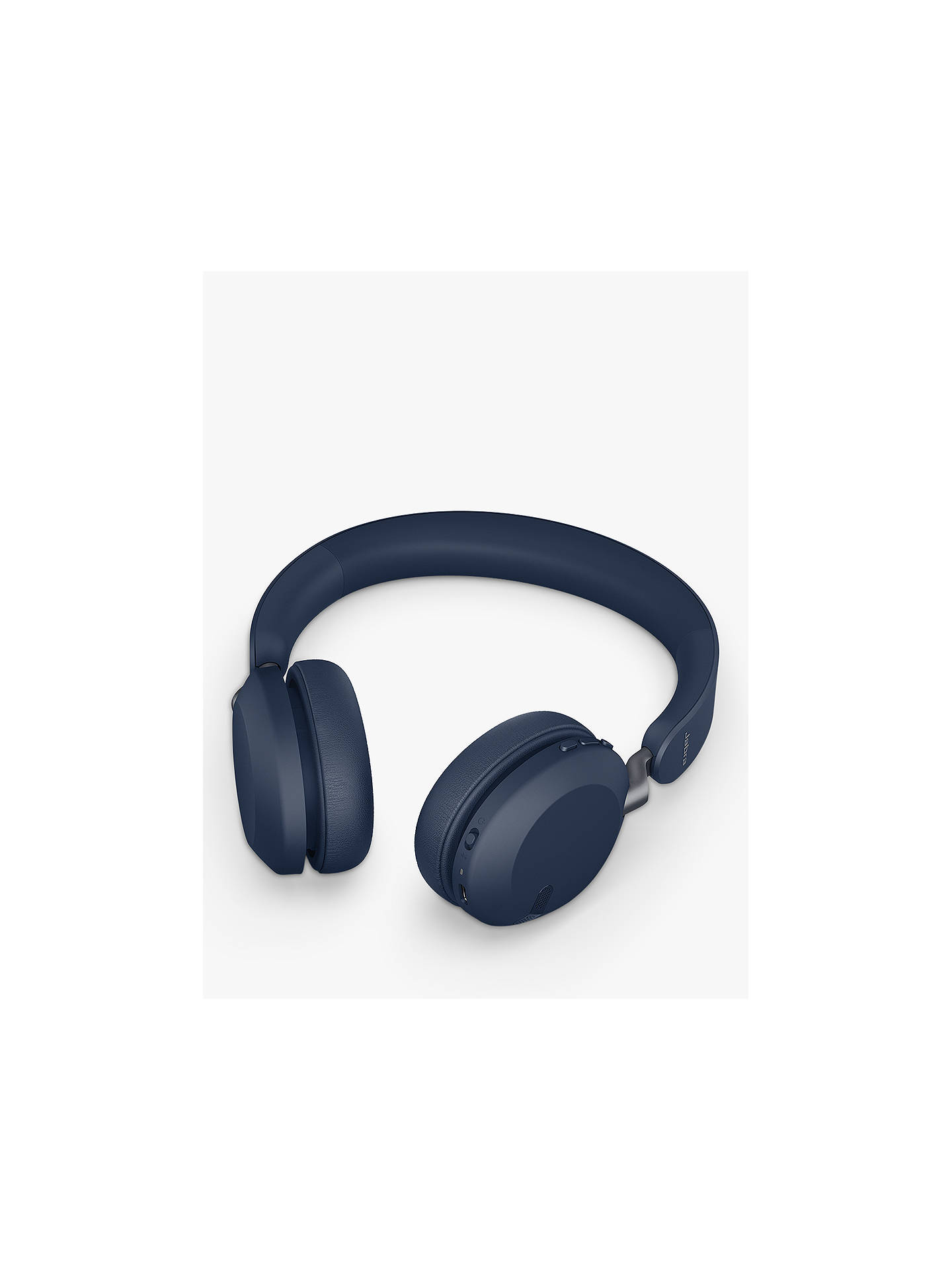 Buy Jabra Elite 45h Wireless Bluetooth On-Ear Headphones with Mic/Remote, Navy Blue Online at johnlewis.com