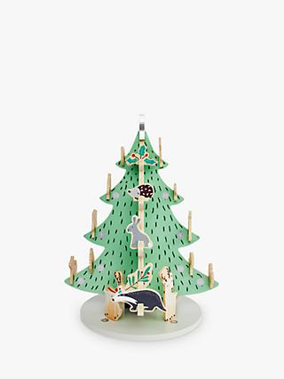 Great Little Trading Co Woodland Animal Advent Calendar, Multi