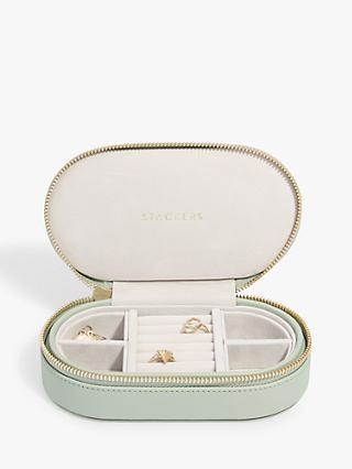 Stackers Oval Travel Jewellery Case