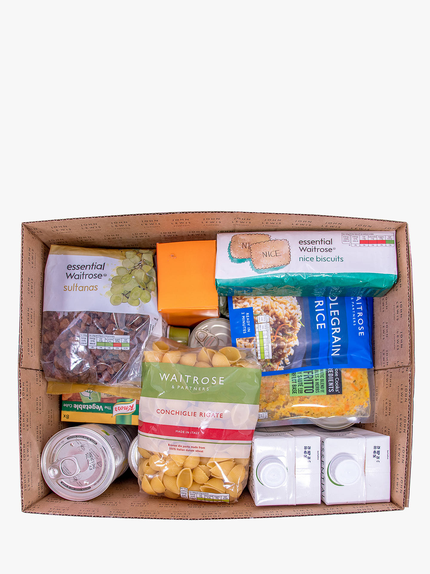 Buy Waitrose & Partners Food Box Online at johnlewis.com