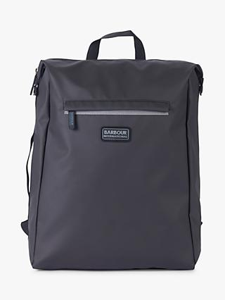 Barbour International Kirby Backpack, Black