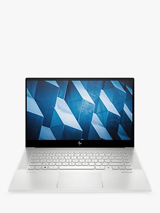 "HP ENVY 15-ep0008na Laptop, Intel Core i7 Processor, 16GB RAM, 1TB SSD, NVIDIA GeForce RTX 2060, 15.6"", Ultra HD 4K, Natural Silver"