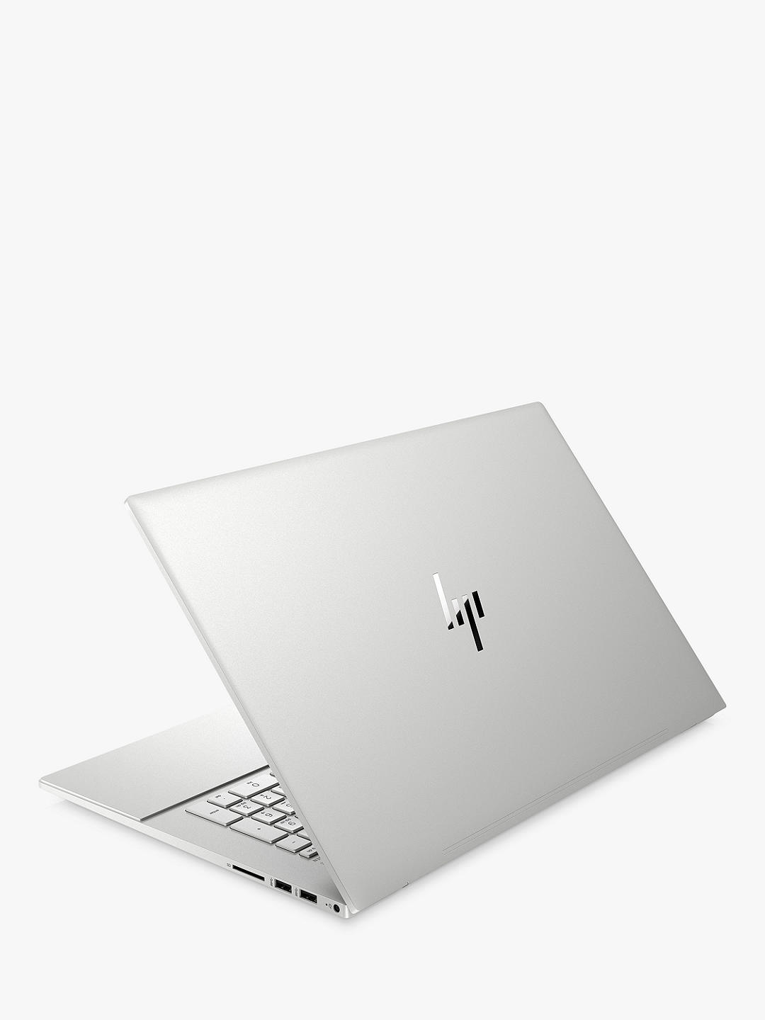 "Buy HP ENVY 17-cg0002na Laptop, Intel Core i7 Processor, 16GB RAM, 512GB SSD, 17.3"", Full HD, Silver Online at johnlewis.com"