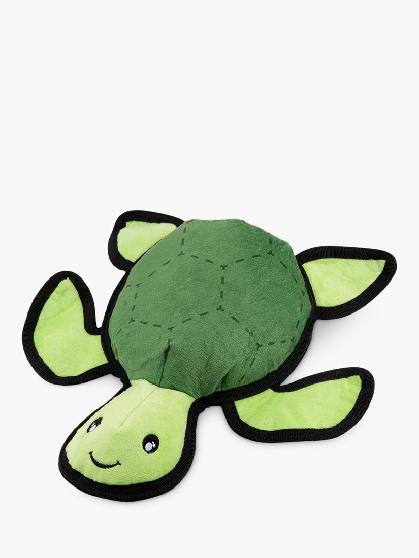Beco Pets Tommy the Turtle Rough & Tough Recycled Plastic Dog Toy