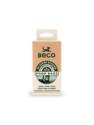 Beco Pets Home Compostable Dog Poop Bags, Pack of 96