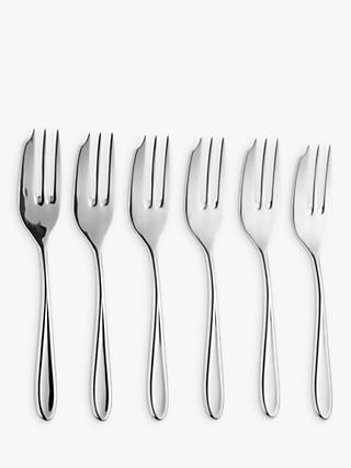 Arthur Price Rivelin Pastry Forks, Set of 6