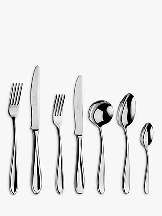 Arthur Price Rivelin Cutlery Set, 44 Piece/6 Place Settings